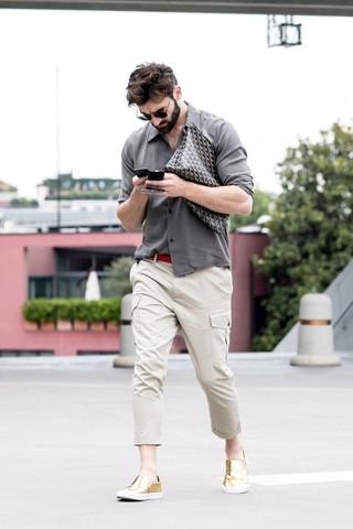 シャツの40代メンズコーディネート